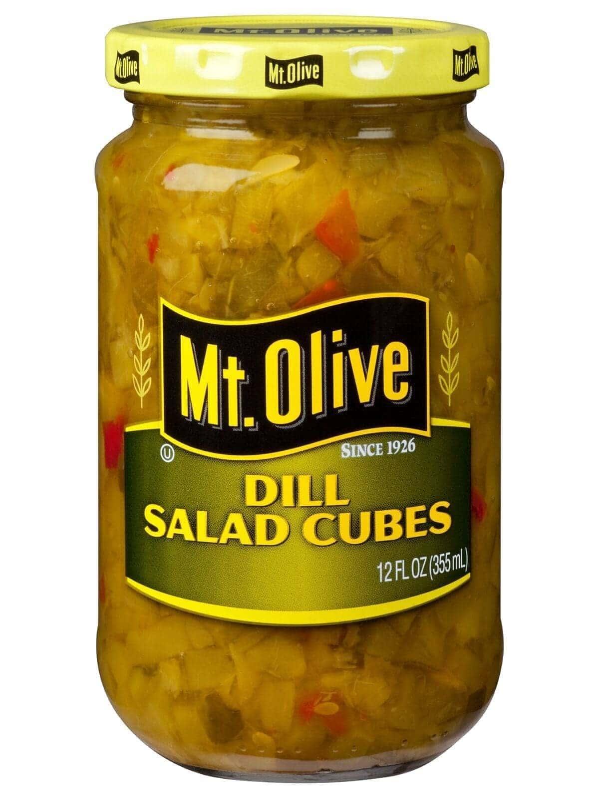 Dill Salad Cubes Jar