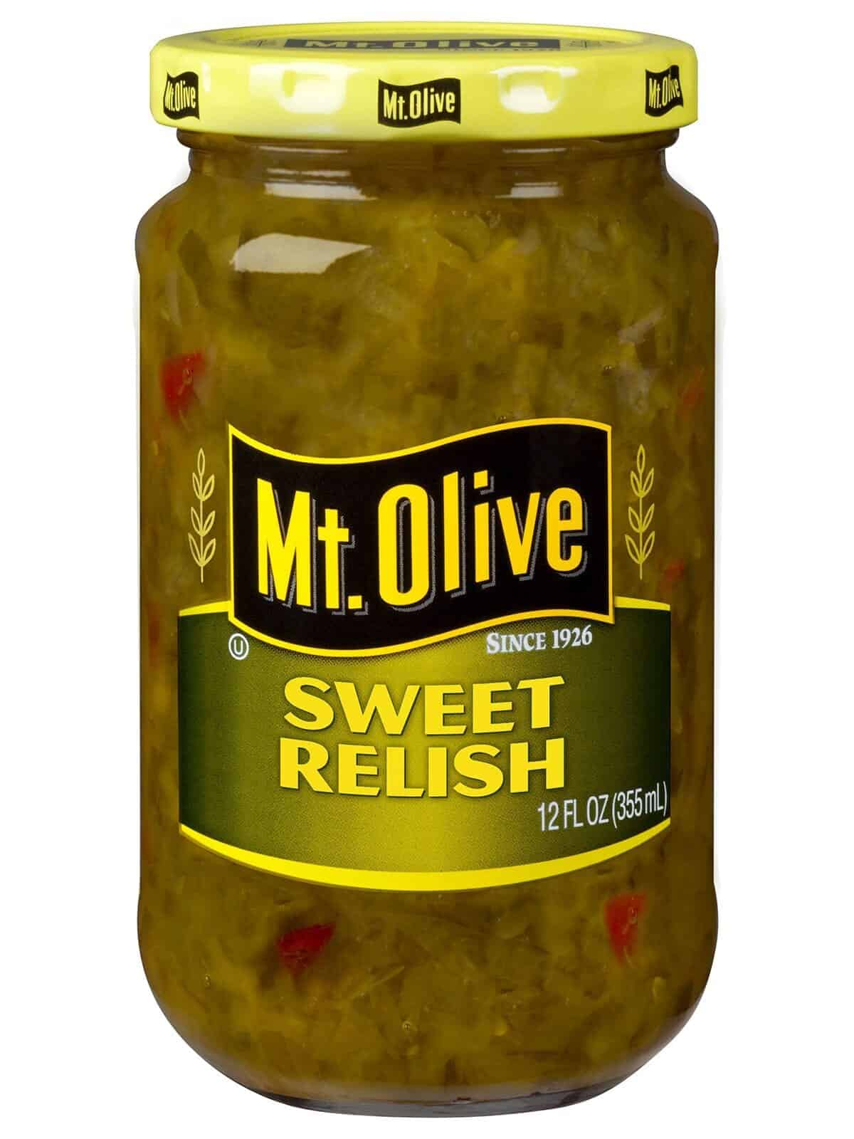 Sweet Relish Jar
