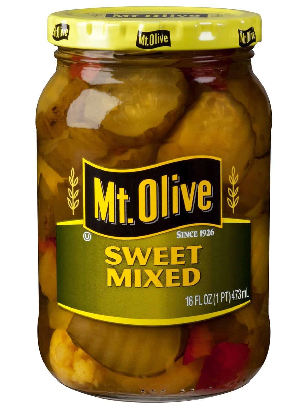 Sweet Mixed Pickles - Mt Olive Pickles