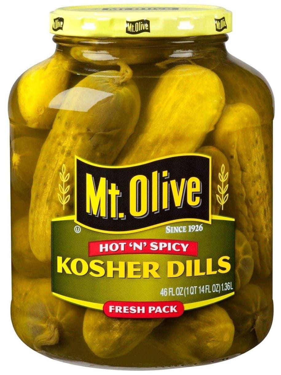 Hot N Spicy Kosher Dills