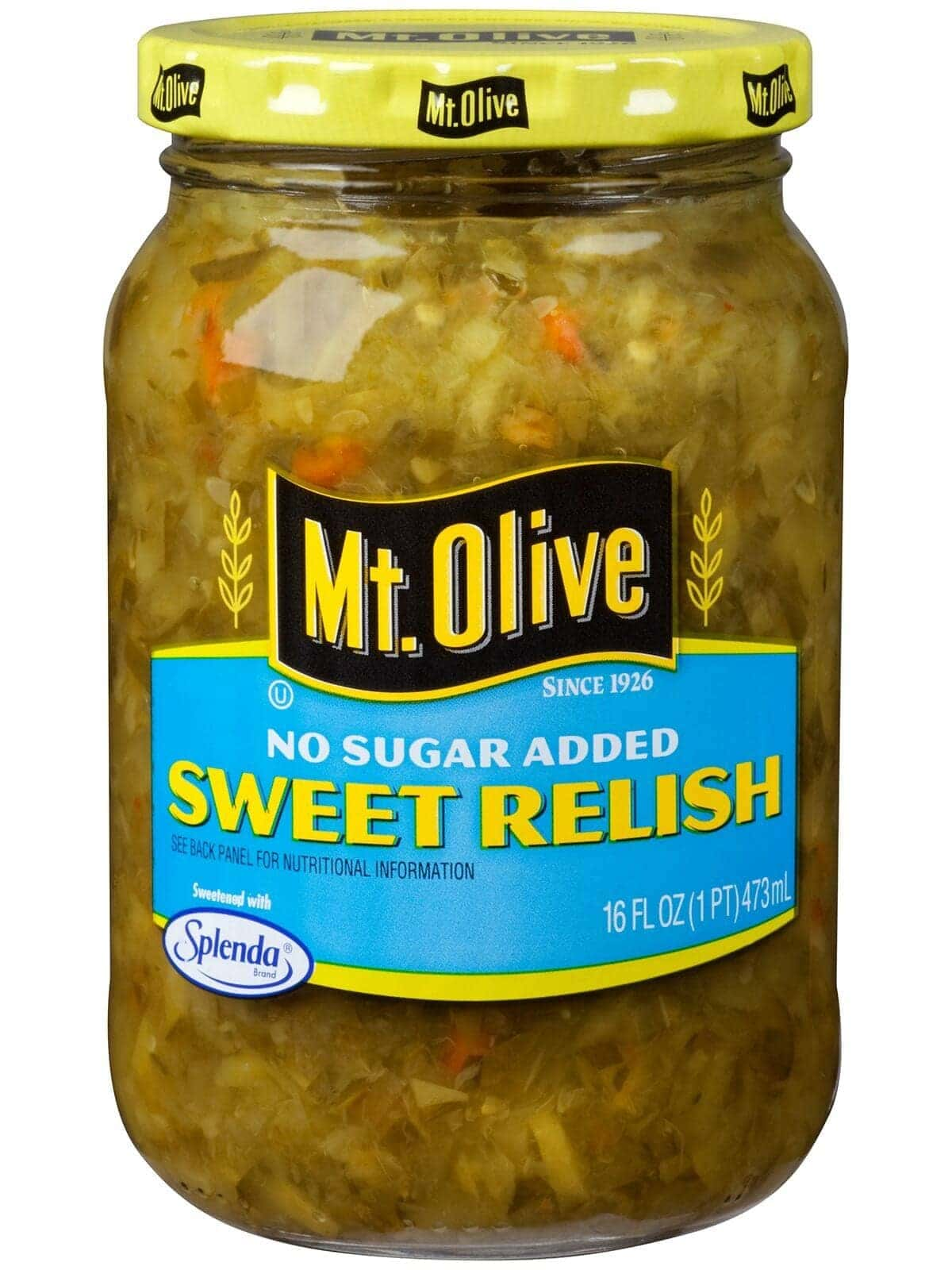 No Sugar Added Sweet Relish