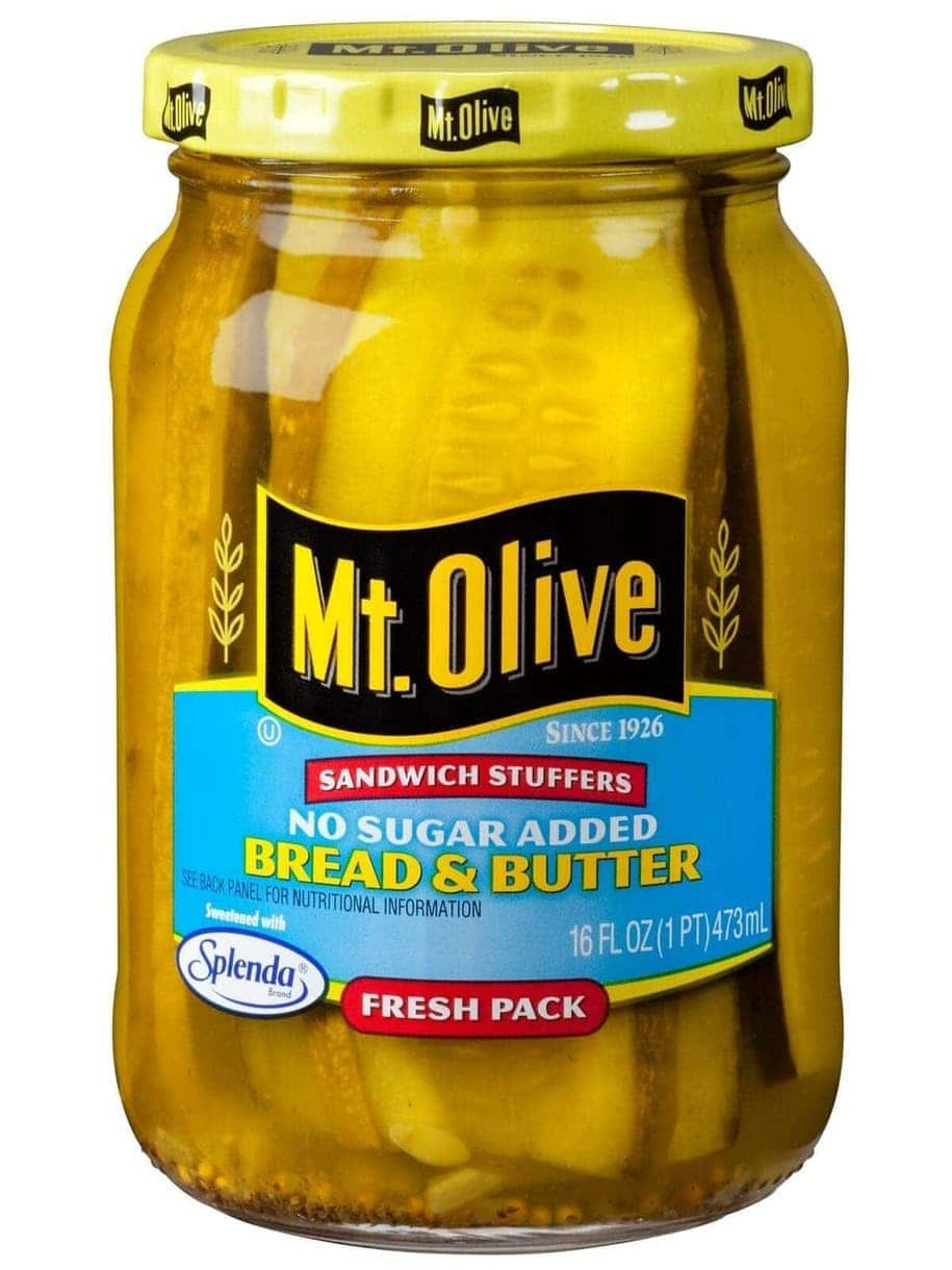 No Sugar Added Bread & Butter Sandwich Stuffers