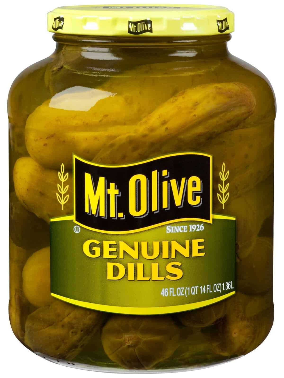 Genuine Dills Jar
