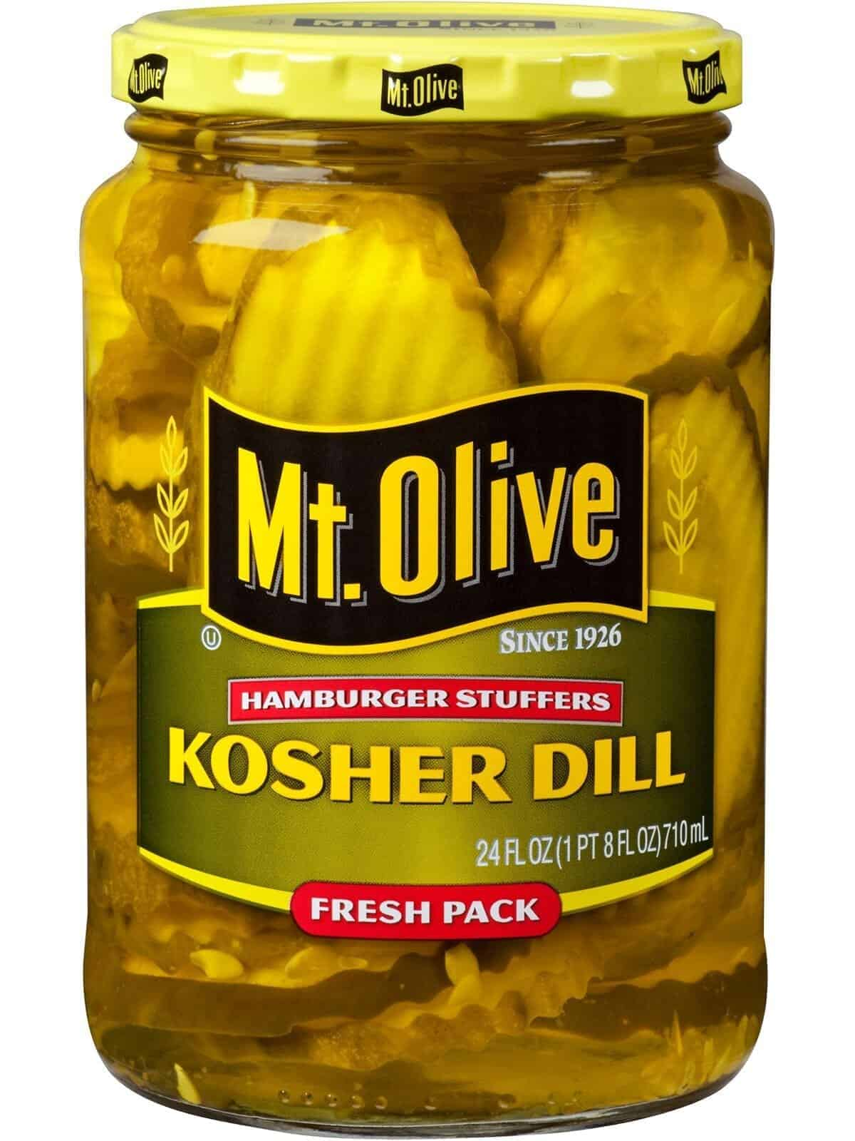 Kosher Dill Hamburger Stuffers
