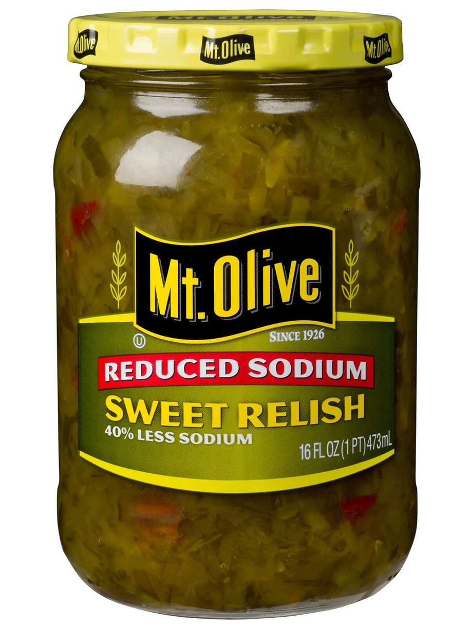 Mt. Olive Hint of Salt Sweet Relish (Reduced Sodium)