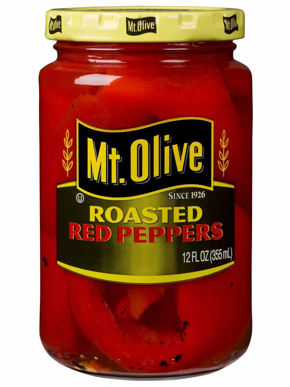 Roasted Red Peppers Jar