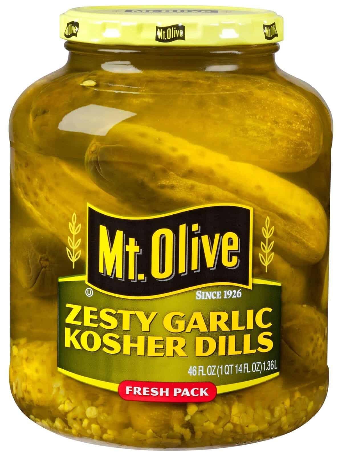 Zesty Garlic Kosher Dills