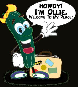 Ollie Q Cumber Waving