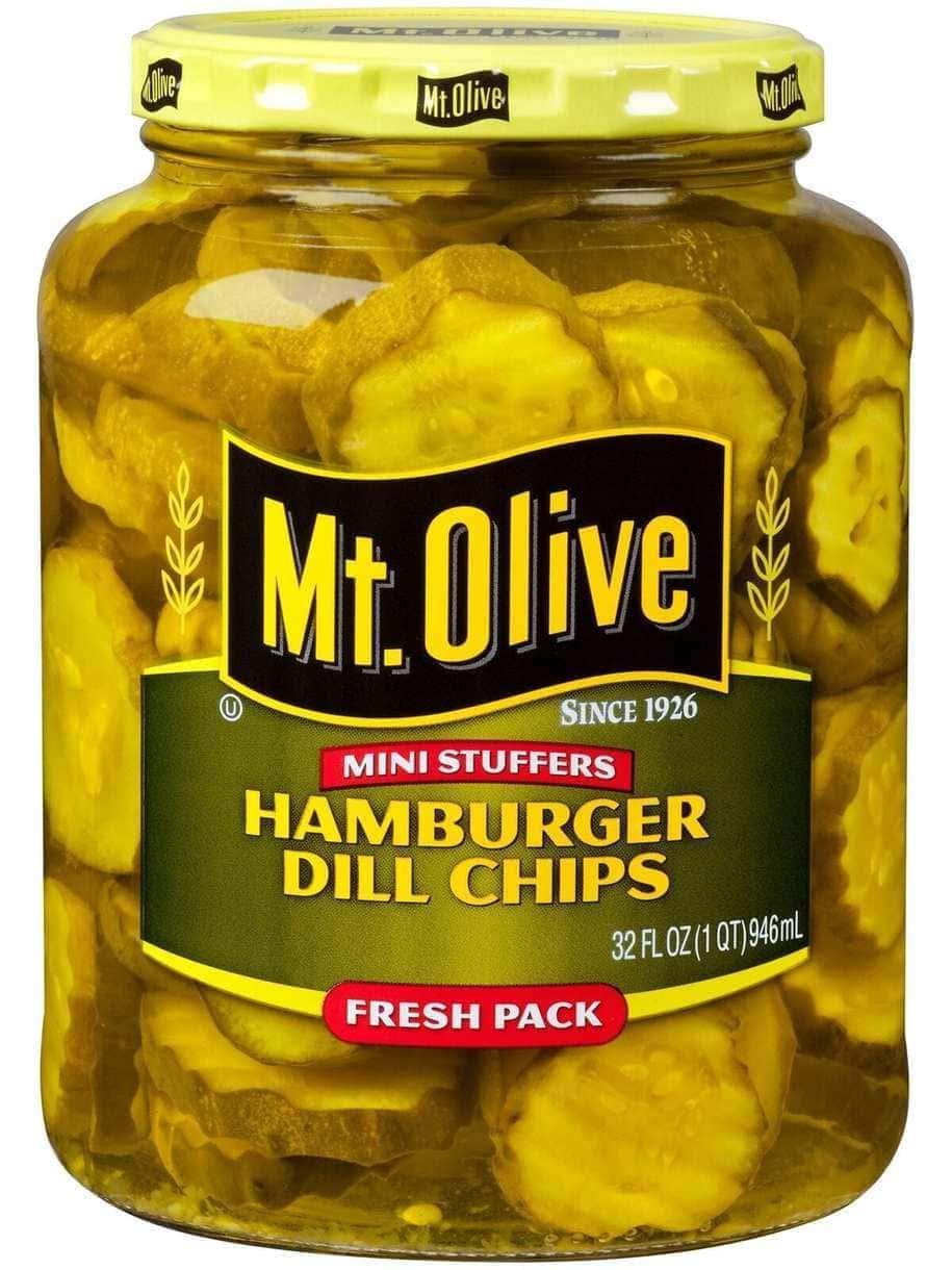 Mini Stuffers Hamburger Dill Chips