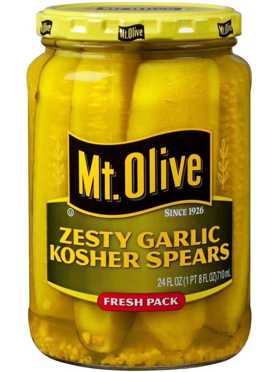 Zesty Garlic Kosher Dill Spears