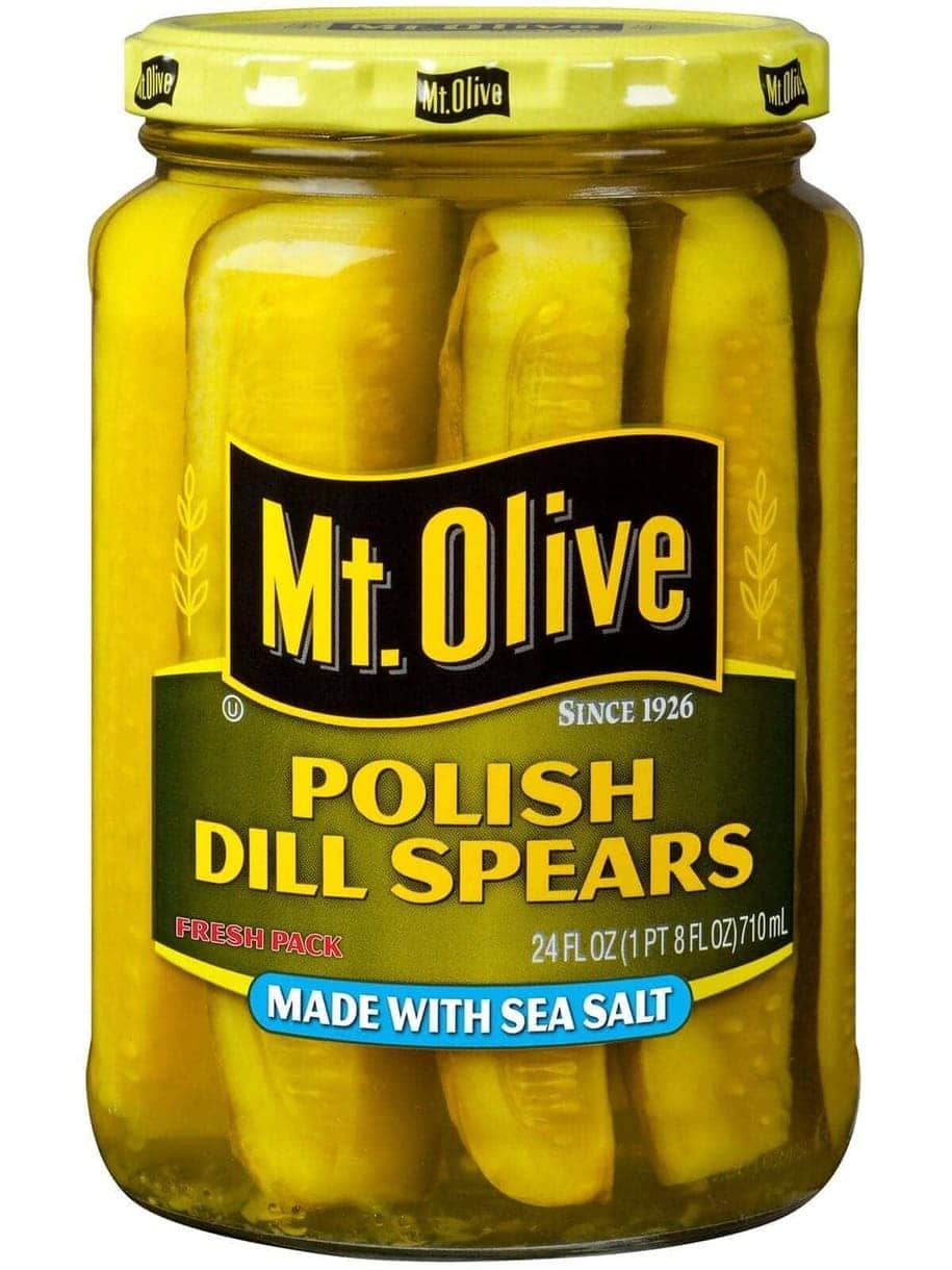 Mt. Olive Polish Dill Spears with Sea Salt