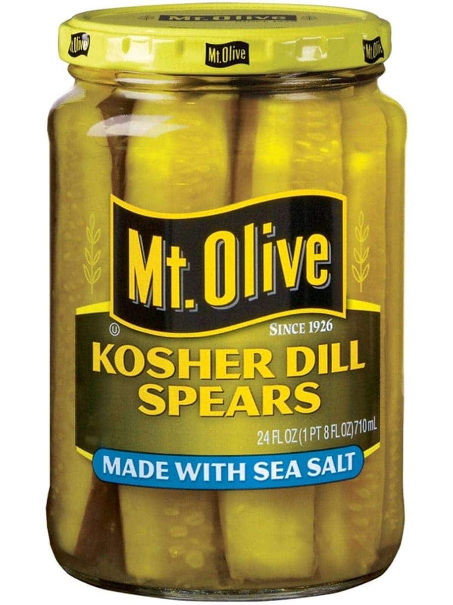 Sea Salt Kosher Dill Spears