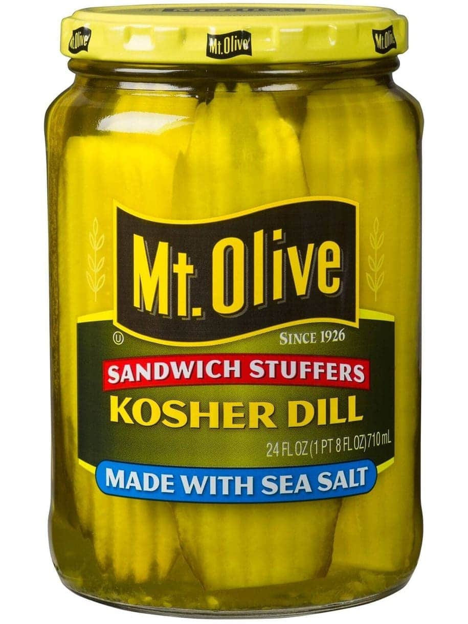 Mt. Olive Kosher Dill Sandwich Stuffers with Sea Salt