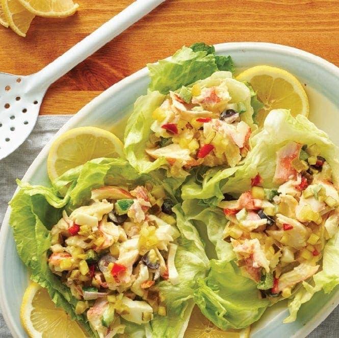 Egg & Seafood Salad