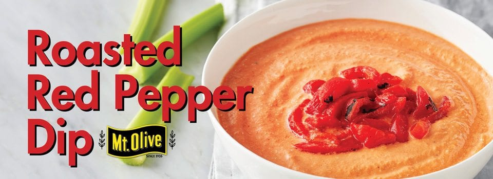 Roasted Red Pepper Dip Slider