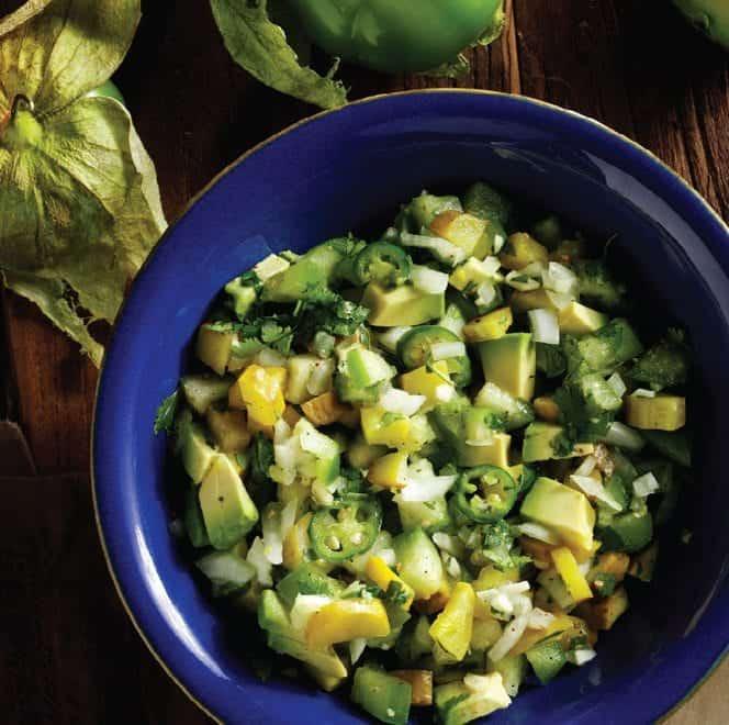 Avocado Green Pickle Salsa