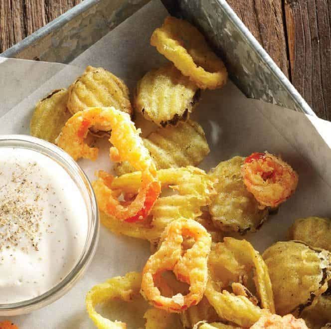 Fried Mt. Olive Pickles & Peppers