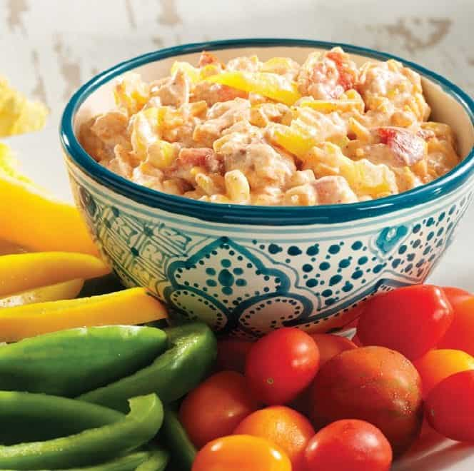 Bowl of Southwest Banana Pepper Dip