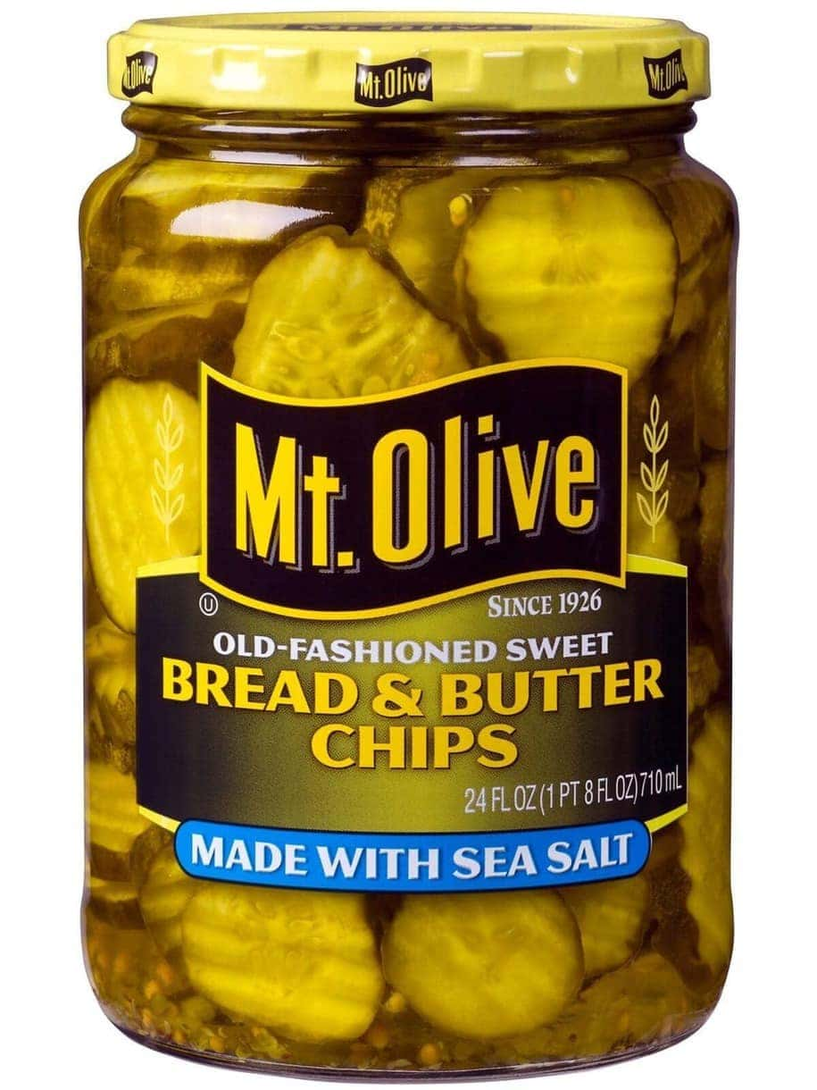 Bread & Butter Chips with Sea Salt