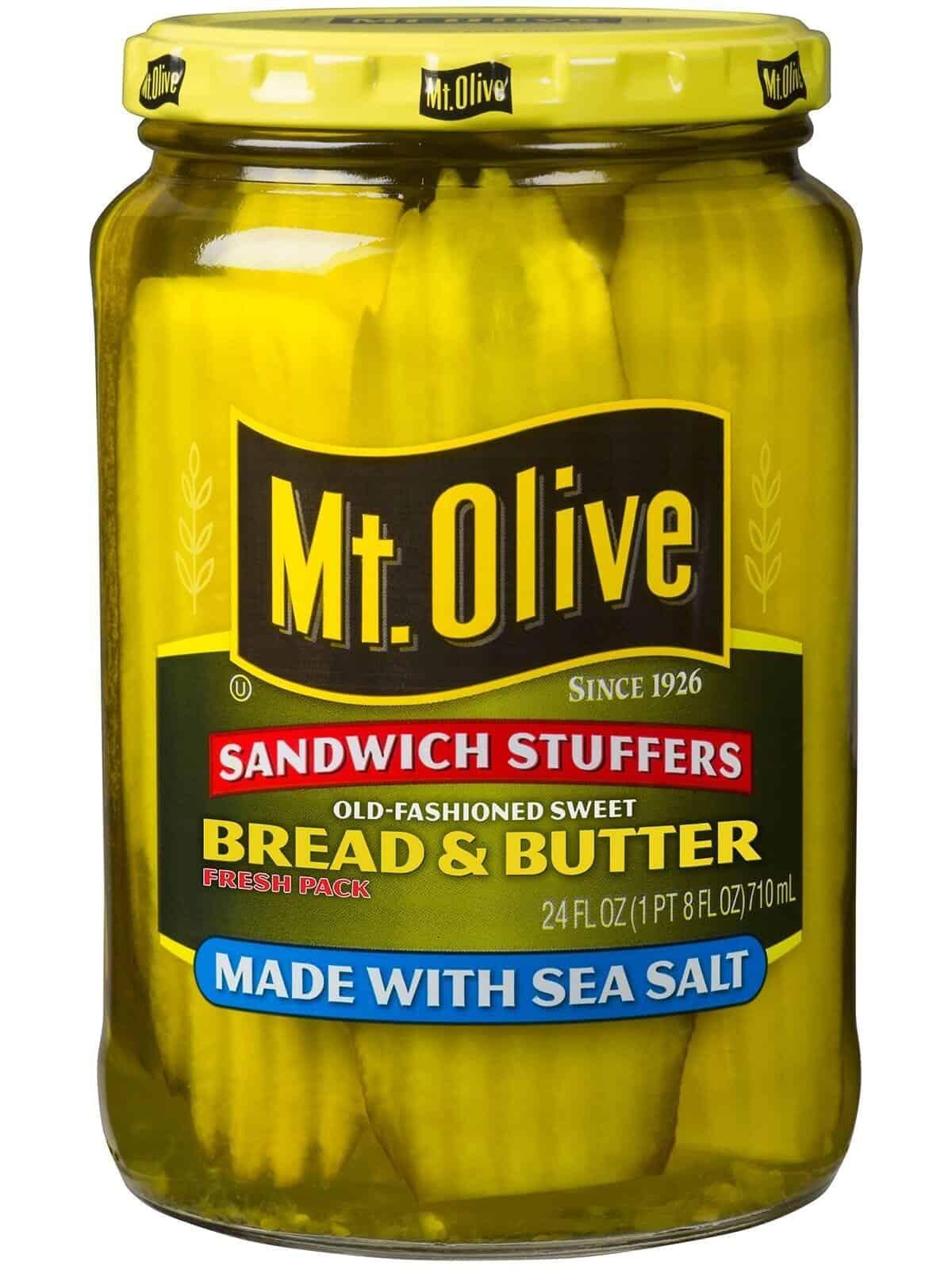 Bread & Butter Sandwich Stuffers with Sea Salt