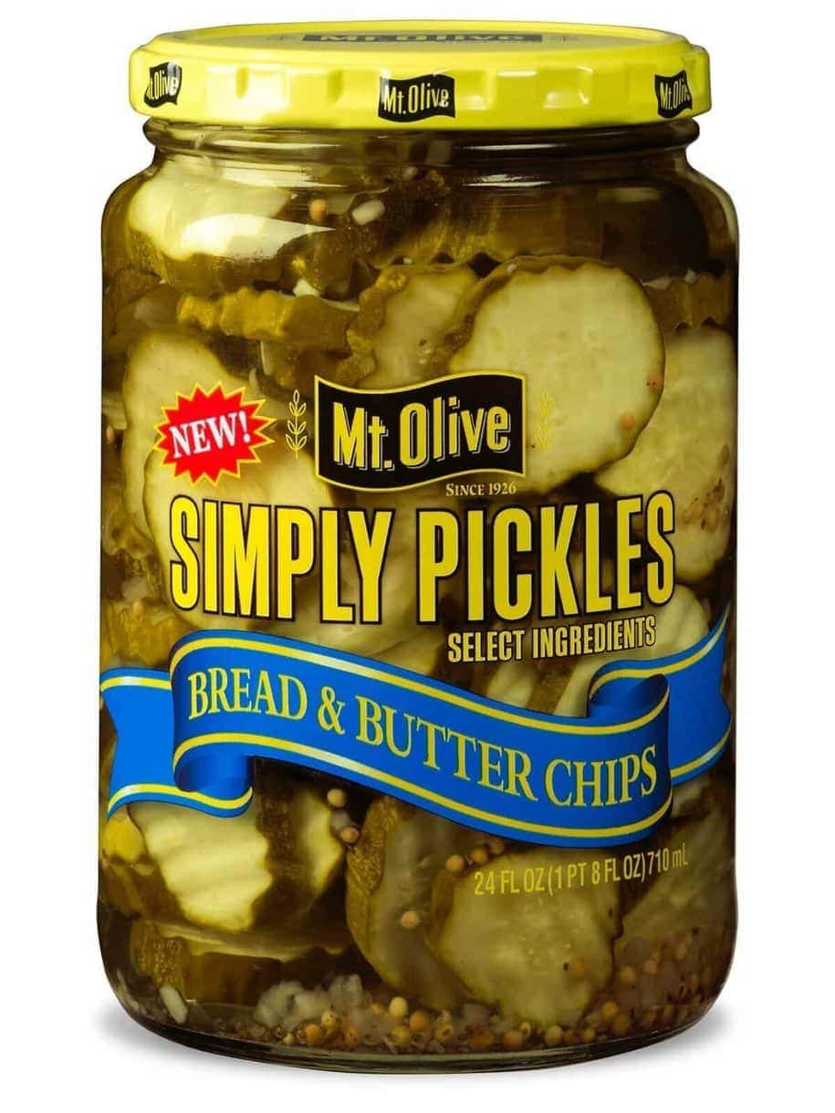 Simply Pickles Bread & Butter Chips