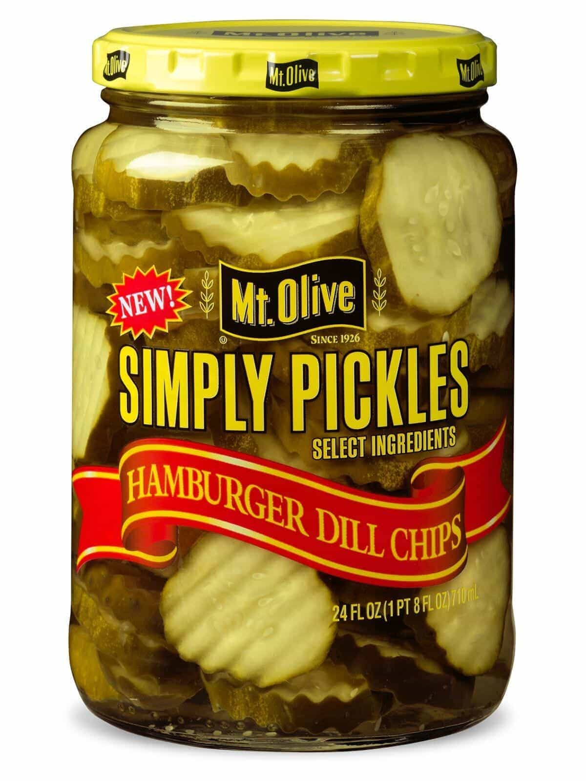 Simply Pickles Kosher Hamburger Dill Chips