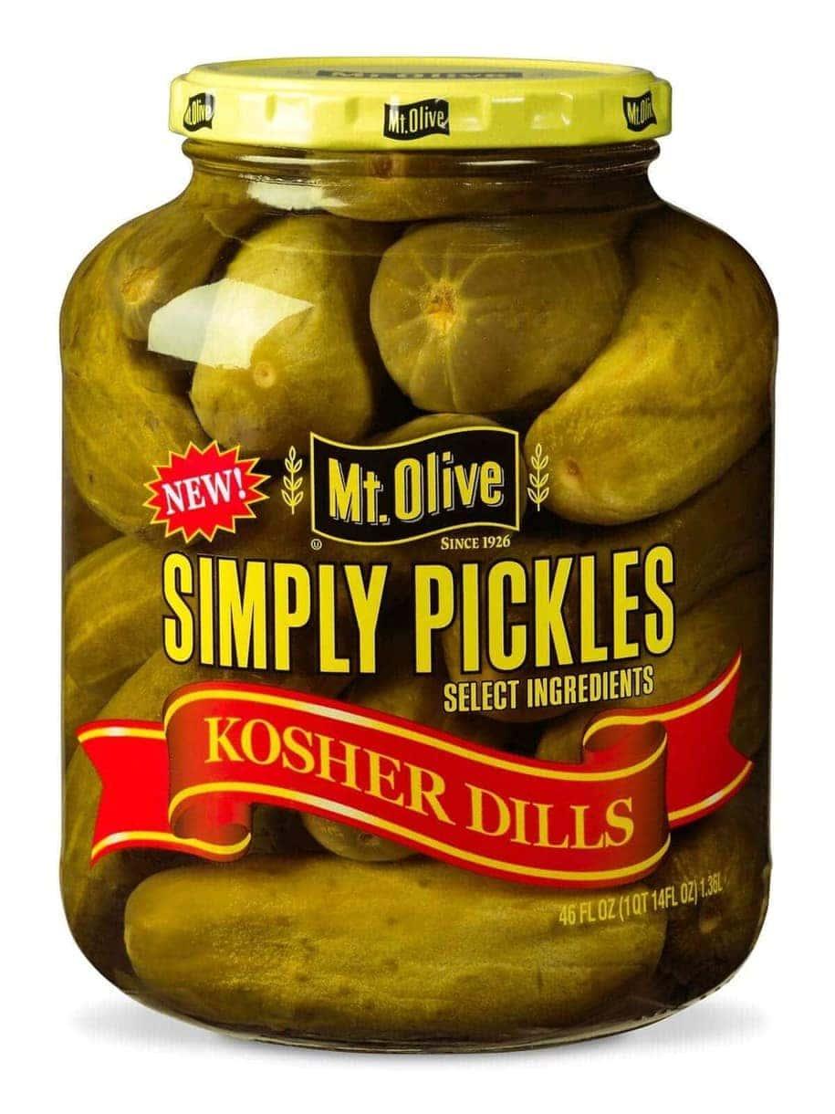 Sea Simply Pickles Kosher Dills Jar