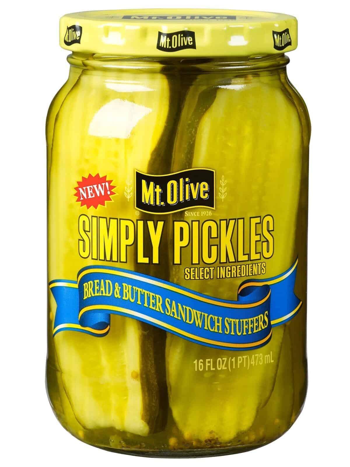 Simply Pickles Bread & Butter Sandwich Stuffers