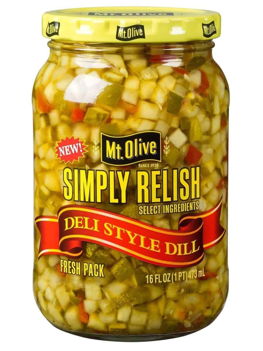 Simply Relish Deli Style Dill Jar