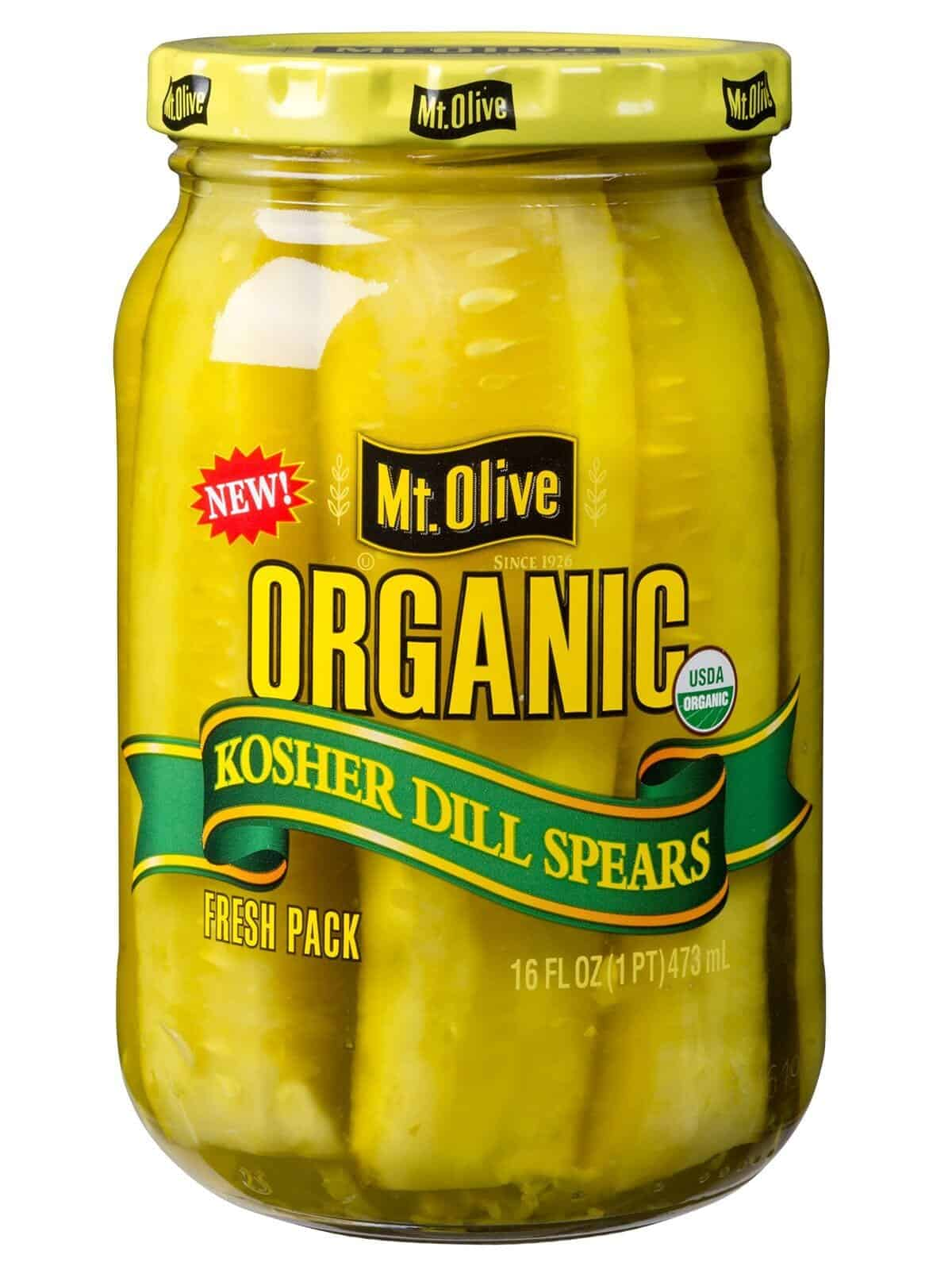 Organic Kosher Dill Spears Jar