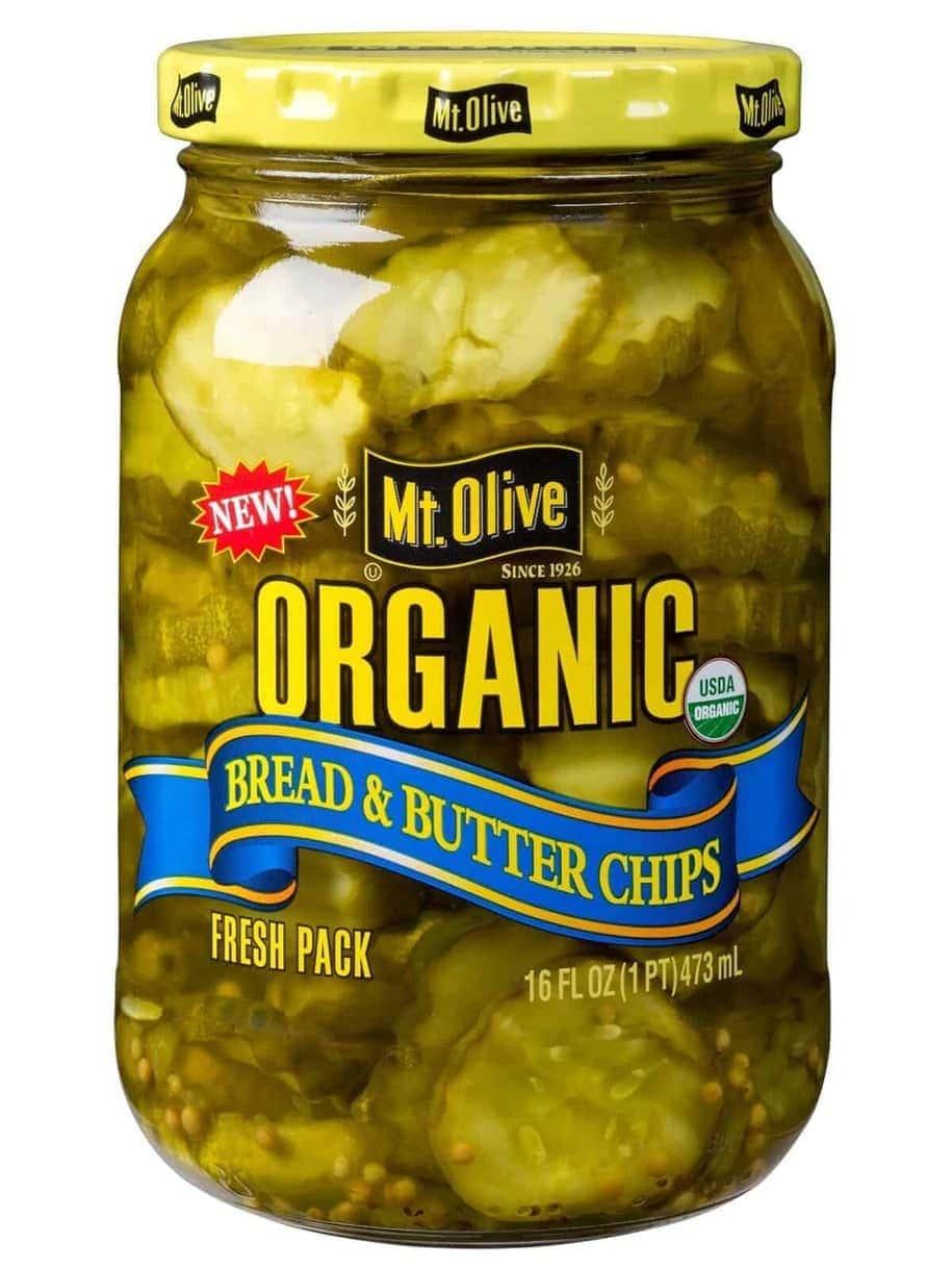 Organic Bread & Butter Chips