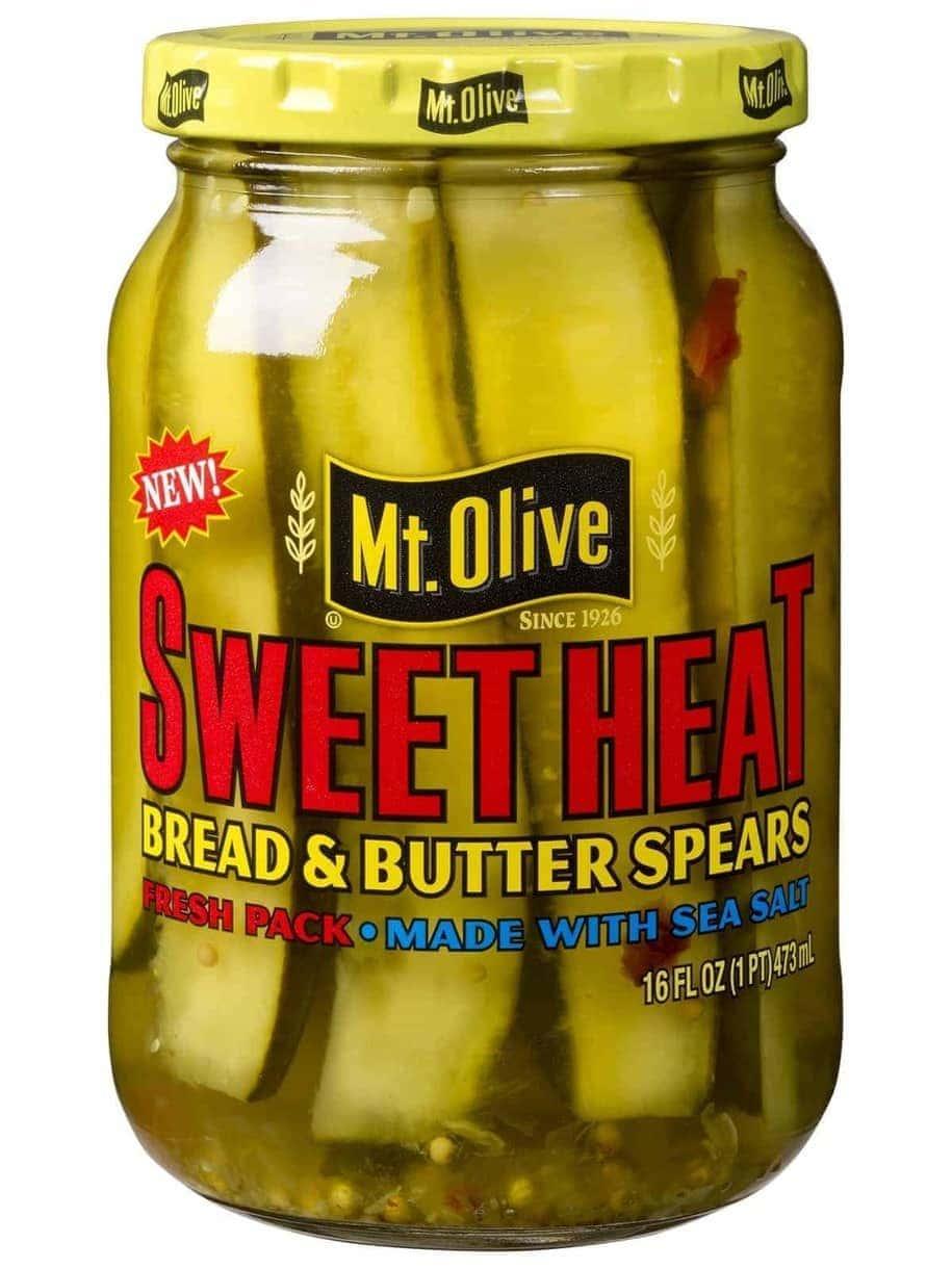 SweetHeat Bread & Butter Spears Jar front