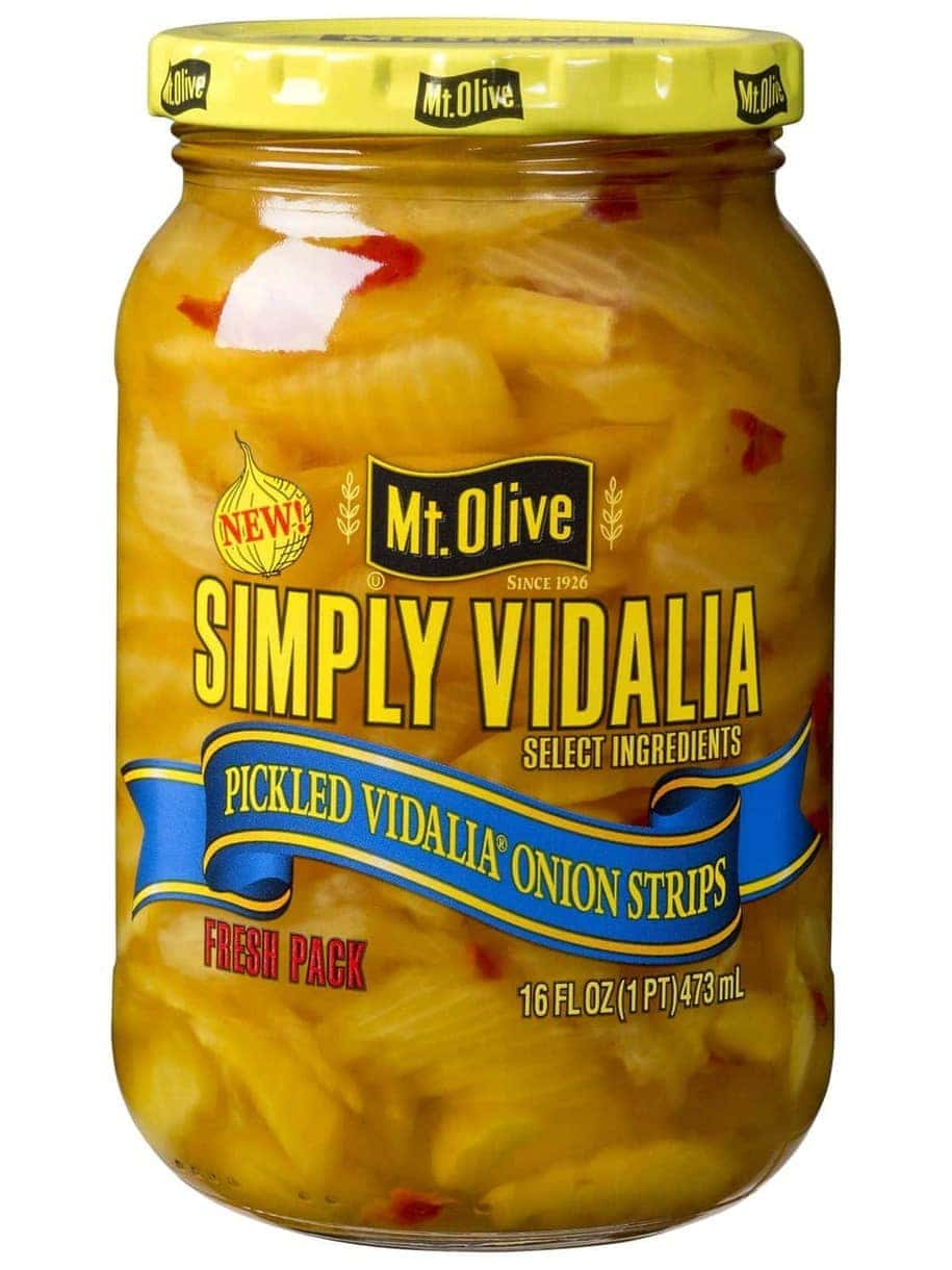 Simply Vidalia Onion Strips Front