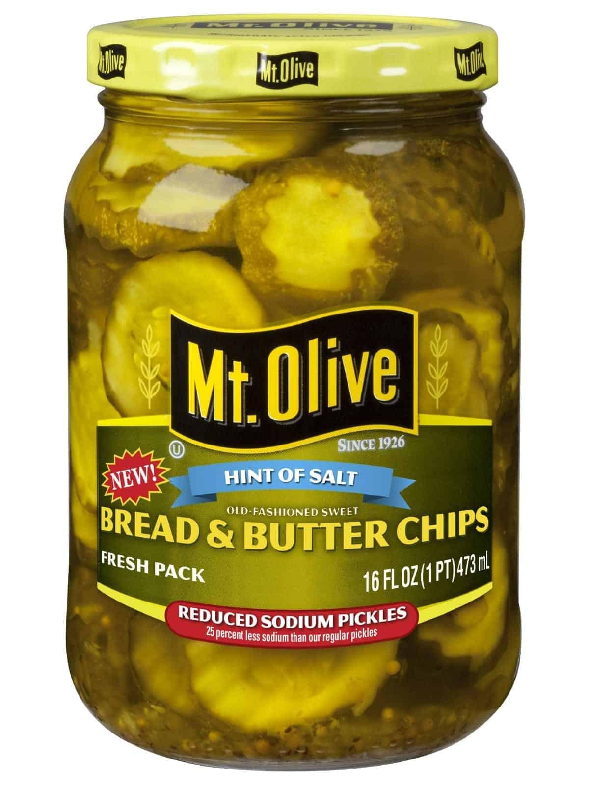 Hint of Salt Bread & Butter Chips