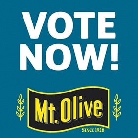 "Mt. Olive Pickle Company One Step Closer to Winning ""Coolest Thing Made in NC"""